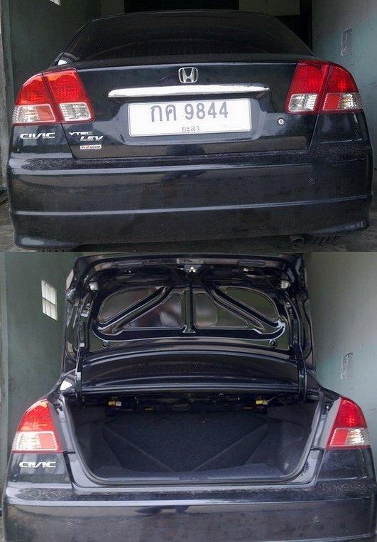 เปิดท้ายรถด้วยรีโมทเดิม