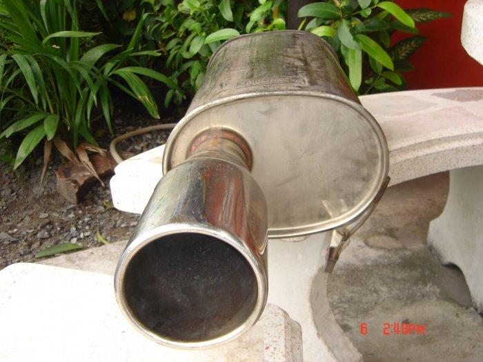 ท่อ FGK ใส้เยิ้องท่อเข้า 2นิ้วใส่เกียร์ออโต้... สภาพโดยรวมดีไม่มีบุบ มีรอยครูดนิดหน่อย ขัดได้ ยังไม่ได้ล้างขัดทำความสะอาด(เพิ่งมาใหม่ๆ ยังไม่เคยใช้ในเมืองไทย ฮ่าๆๆ) ร้านบอก