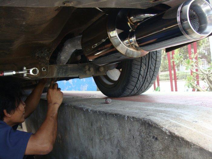 ซื้อไป ใส่ได้เลย ท่อ Mugen sports exhaust system DC5