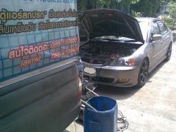 บริการล้างแอร์รถยนต์ไม่ถอดตู้ 500 บาทแถมกรองแอร์ฟรี เติมน้ำยาฟรีบริการถึงบ้านเพียง 600 บาท