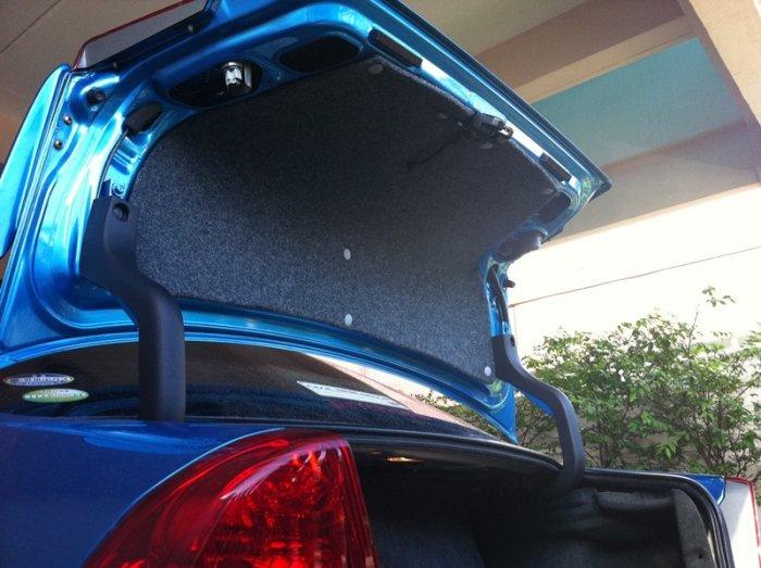 DIY แผ่นปิดฝากระโปรงท้าย Trunk Lid Cover เนียนๆ (เพิ่มรูปตอนเสร็จแล้วครับ)