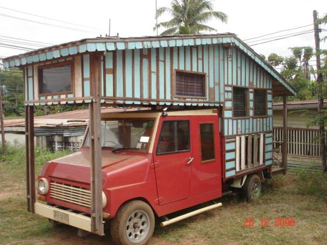 รถบ้าน // หารถบ้านมาตั้งนาน เพิ่งเจอของจริงวันนี้ รถบ้านของจริง
