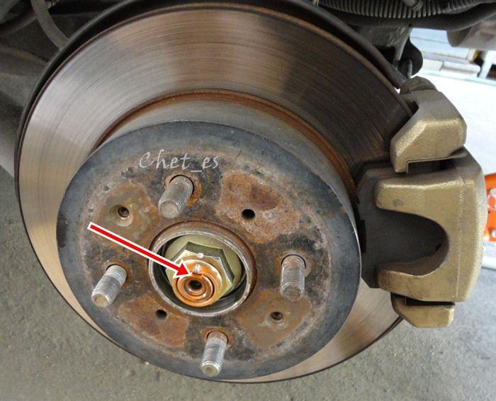 DIY :: เปลี่ยนลูกปืนล้อหลัง rear hub bearing