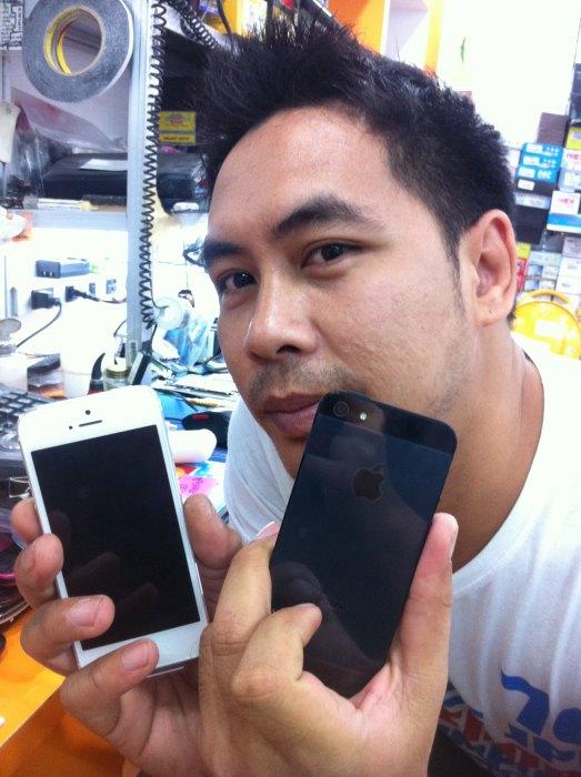 สัมผัสแรกไอโฟน5
