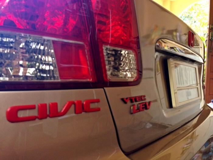 Civic แดงๆ