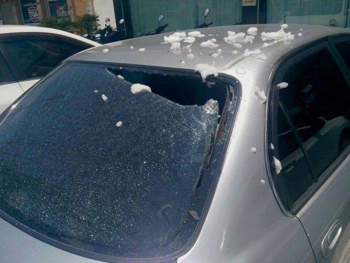 เตือนพี่ๆน้องๆ เก็บสเปรย์กระป๋องดับเพลิง ตากแดดในรถ +++อันตราย!!!+++