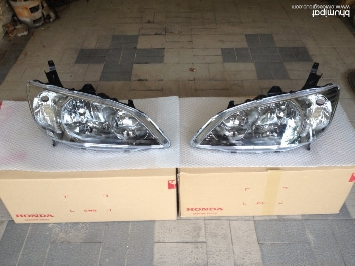 ไฟหน้าโคมสโมก2.0แท้ใหม่ชุดละ 7,200 บาท