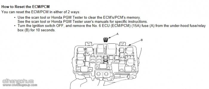 How to Reset ECU วิธีการรีเซ็ท ECU และการทำให้รถเรียนรู้รอบเดินเบา ก่อนนำรถออกไปวิ่ง