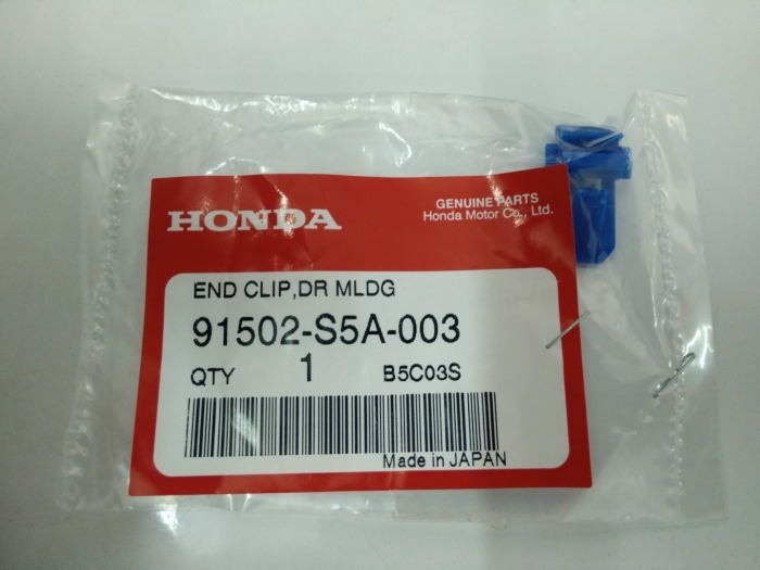 END CLIP ,DR MLDG : รหัส 91502-S5A-003