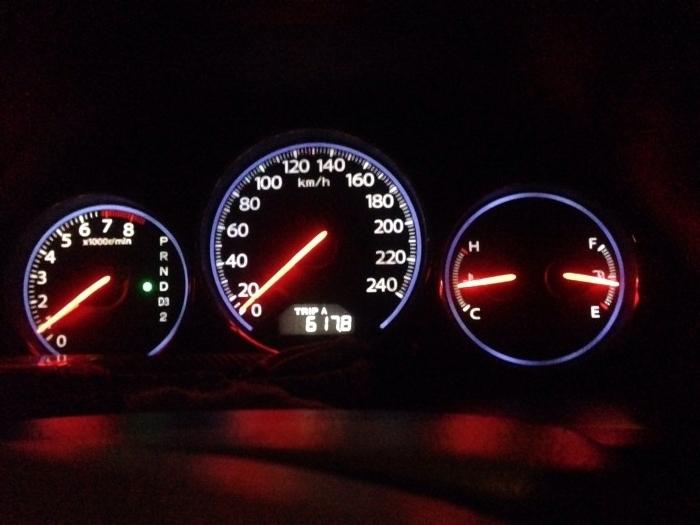 615 กิโลเมตร นะครับ ขับ เกินไป 2 กิโลเมตร อิอิ