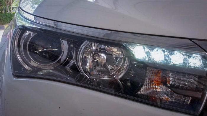 ไฟหน้าฮอนด้า HR-V LED โปรเจคเตอร์ ,ALTIS 2014,ฟอร์จูนเนอร์ ,พรีอูส,แอ๊คออด, ACUAL TL