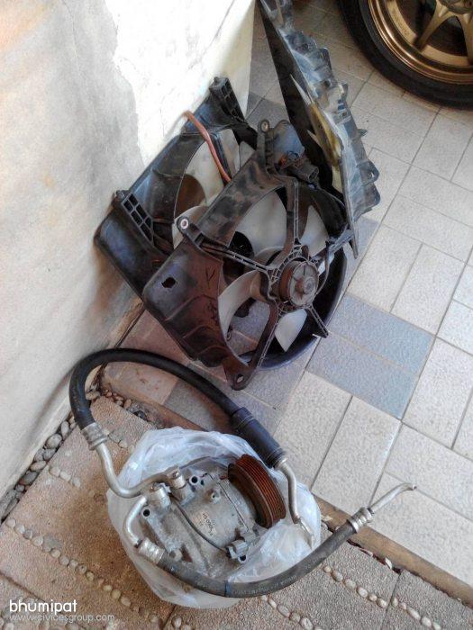 คอมแอร์d17เก่าญี่ปุ่น 2,200 บาท พัดลมหม้อน้ำ พัดลมแอร์เก่าญี่ปุ่นโครงละ 600 บาท
