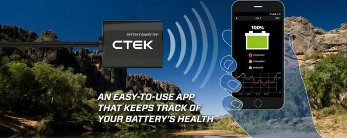 อุปกรณ์ตรวจสอบสถานะแบตเตอรี่ให้พร้อมใช้งานอยู่เสมอ รายงานผลผ่าน smart phone