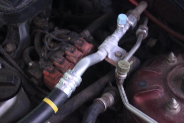 ท่อแอร์แรงดันต่ำ Civic ES