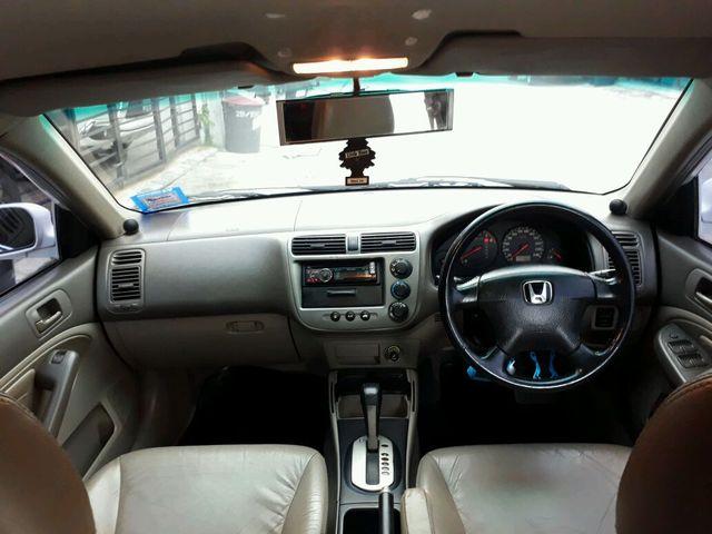 ขายรถ Honda Civic Es Dimension ปี 2001 ภาษีเต็ม ตัวท๊อป สีขาว VTi 1.7 AT Sedan