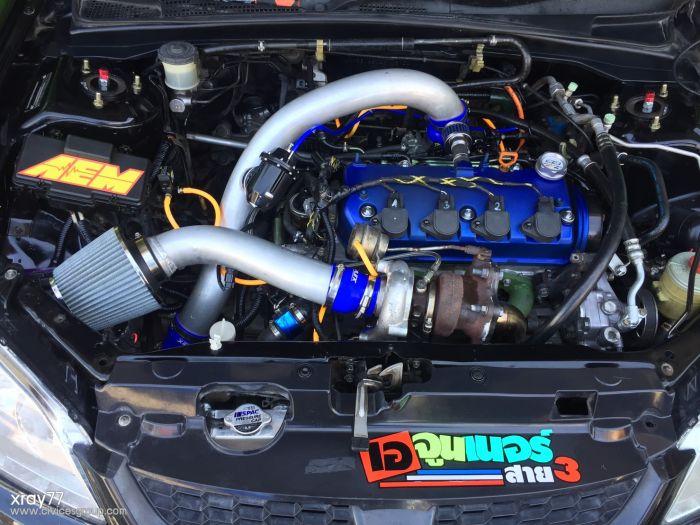 สมาชิกใหม่ฝากเนื้อฝากตัวด้วยครับ Civic Es Vtec Turbo A/T