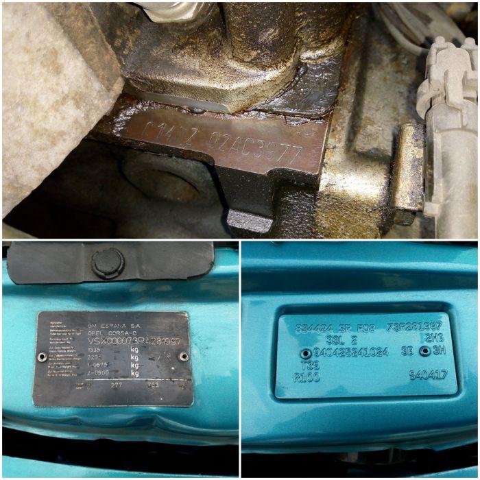OPEL Corsa Swing 3ประตู 1.4 5MT จด 2537 Powerภาษี2561 เล่มพร้อมโอน เลขถัง เลขเครื่องตรงเล่