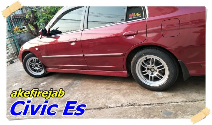 Civic Es Enkei RPF1