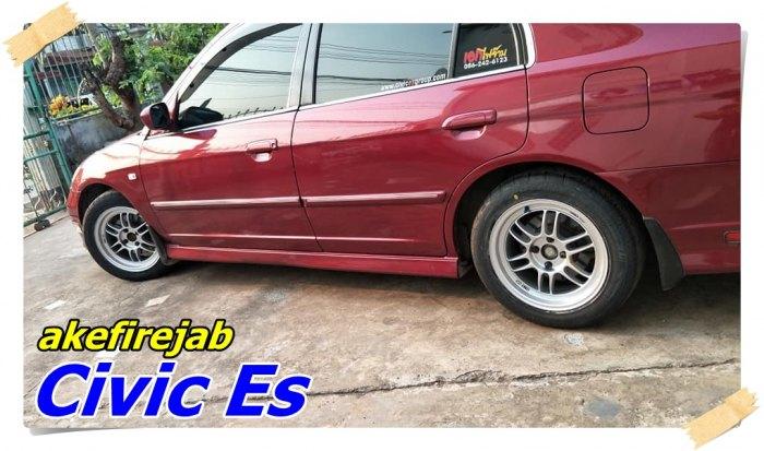 Civic Es Enkei RPF1