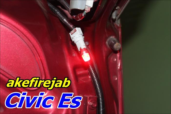 ไฟหรี่ T10 LED สีแดง