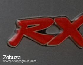 ตั้งรับ โลโก้ RX ขอแท้สภาพดีครับ